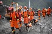 Второй оползень в Китае прервал поисково-спасательные работы