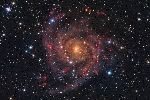 Получено изображение скрытой галактики